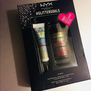 NYX Professional Makeup #GlitterGoals